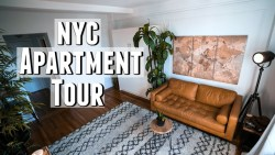NYC Apartment Tour!! 300 sq. foot Minimalist Studio