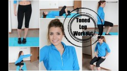 Get Healthy With Me   My Leg Workout!
