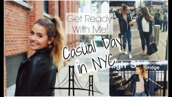 Get Ready With Me: Casual Spring Day in NYC!