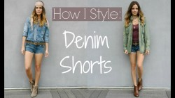6 Casual Ways I Wear Denim Shorts | Spring Style