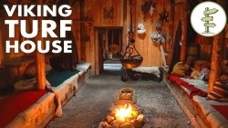 Amazing Viking Turf House Tour – Stunning Green Building!