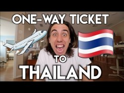 BOUGHT A ONE-WAY TICKET TO THAILAND | Travel Vlog Ep. 01