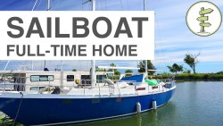 Couple Moves From House to Sailboat – Year-Round Liveaboard in Canada