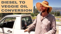 Farmer Converts Diesel Truck to Run on Waste Vegetable Oil
