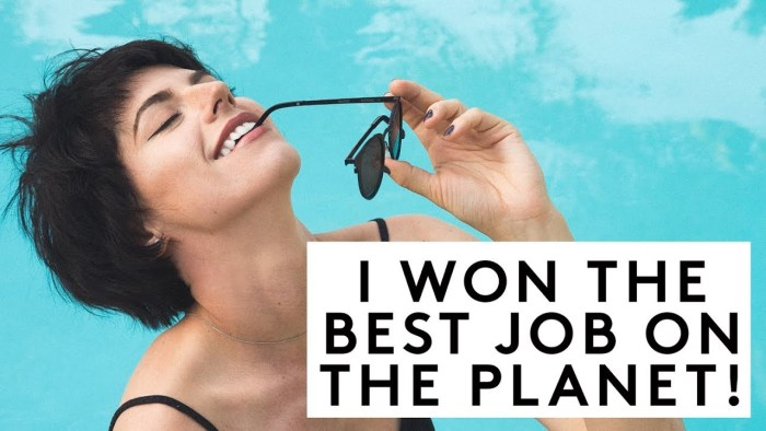 I WON THE BEST JOB ON THE PLANET! | Sorelle Amore