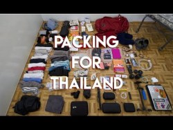 I packed TOO MUCH! | Thailand Southeast Asia | Travel Vlog Ep. 02