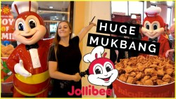 JOLLIBEE TASTE TEST | Americans' FIRST IMPRESSIONS of Philippines