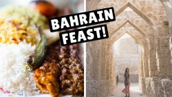 Middle East Cruise Stop #3 | BAHRAIN FEAST with a local!