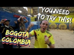 My NEW Favorite Game! TEJO in Bogota, Colombia Travel Vlog Ep 11