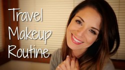 TRAVEL MAKEUP ROUTINE