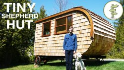 Tour of Modern Shepherd Hut Built by Güte – A Great Tiny House Alternative