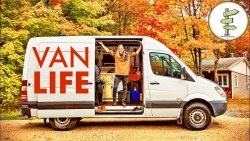 Van Life on a Budget – Traveling Songwriter Living in DIY Sprinter Conversion