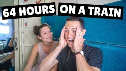 WE ALMOST MISSED IT! FIRST Class Wagon Tour (Trans-Siberian Railyway Day 8)