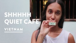WHISPER ONLY! REACHING OUT TEA HOUSE CAFE | Hoi An, Vietnam Vlog 079, 2017 | Digital Nomad