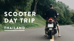 CHIANG MAI SCOOTER DAY TRIP – SAMOENG LOOP | Thailand Travel Vlog 051, 2017