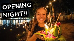 First Impressions of LOY KRATHONG | Myanmar to Thailand on Thai Airways