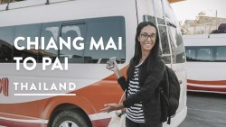762 CORNERS! CHIANG MAI TO PAI BUS | North Thailand Travel Vlog 120, 2018 | Pai Digital Nomad