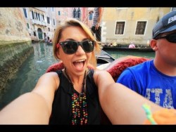 CRUISING THE CANALS // Venice, Italy
