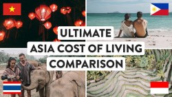SOUTH EAST ASIA COST OF LIVING | Thailand, Vietnam, Indonesia & Philippines Travel | Digital ...