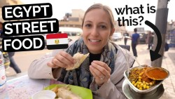 TRYING EGYPT STREET FOOD | Best Cairo DIY Food Tour