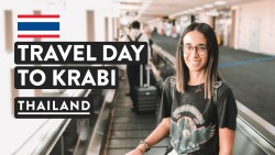 AIRPORT LOUNGES & BANGKOK TO KRABI | Thailand Travel Vlog | DMK Flight