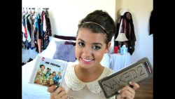 *CLOSED* Giveaway!!! Naked 2 Palette + Win a Signed One Direction CD