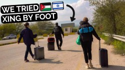 JORDAN TO ISRAEL BY BUS | Strange Border Crossing Middle East…