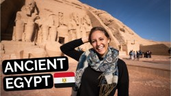 JOURNEY to ABU SIMBEL – Bus Drivers Fight & Ancient Egyptian Ruins