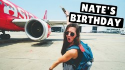 THAILAND to MYANMAR on Air Aisa | Nate's Birthday & Shwedagon Pagoda