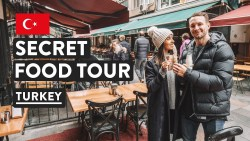 IS TURKISH FOOD GOOD? | Secret Food Tours Istanbul Kadikoy | Turkey Travel Vlog