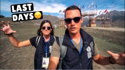 Our Last Days in Kyrgyzstan Were Exciting…(viewer discretion is advised)