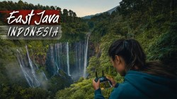 This waterfall is INSANE! Tumpak Sewu – East Java, Indonesia