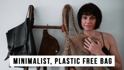 What's in My Plastic Free, Minimalist Bag? Practical Organisation Made Stylish and Sustainable
