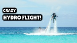 FLYING WITH A WATER JETPACK! | Jetblade Barbados