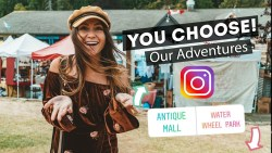 Instagram Followers CONTROL OUR TRAVELS! | Salt Spring Island & Chemainus