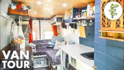 This Budget DIY Camper Van is Surprisingly Functional & Beautiful – Van Life Tour