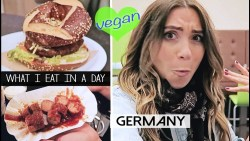 What I Eat In A Day (vegan)  LEIPZIG, GERMANY