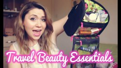 ✈ Travel Beauty Essentials (haircare, skincare and packing tips! )