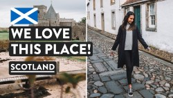SCOTTISH ROAD TRIP BEGINS 🚙Exploring Fife — Inchcolm Island & Culross | Scotland Vlog