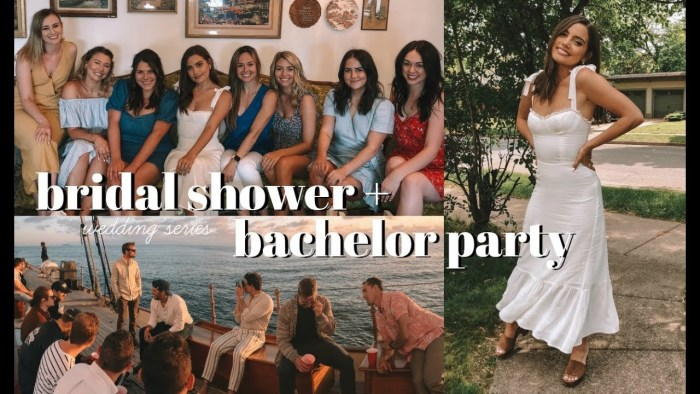 WEDDING SERIES: Bridal Shower & Patrick's Bachelor Party
