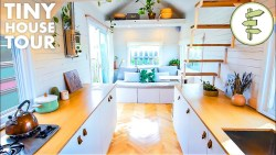 Tour This Spacious DIY Tiny House with Transforming Furniture