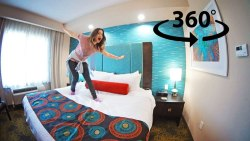 WHAT I DO in my HOTEL ROOM ? (360° degrees)