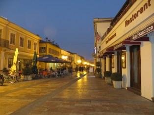 Padesrianised Street of Shkoder