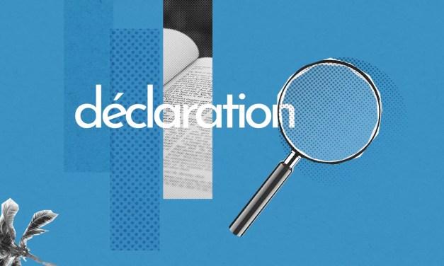 Déclaration – Expertise sur la situation économique et financière de l'entreprise au 31/12/2020 (CSE du 09/07/2021)