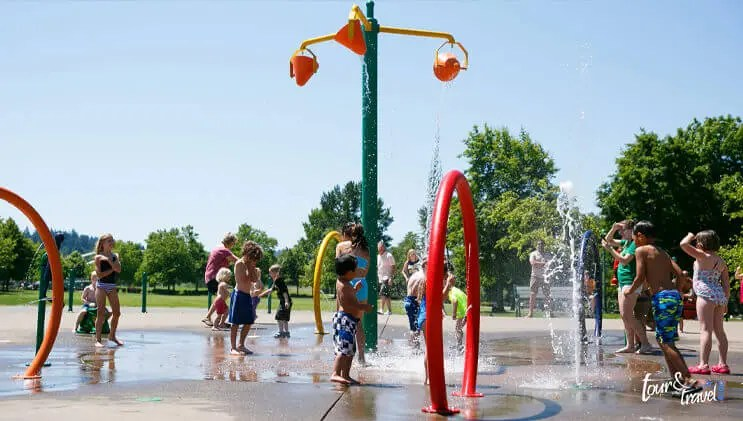 Riverfront City Park And Water Park image