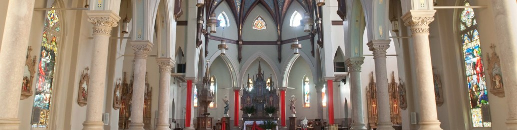 Inside Asc. Catholic Church