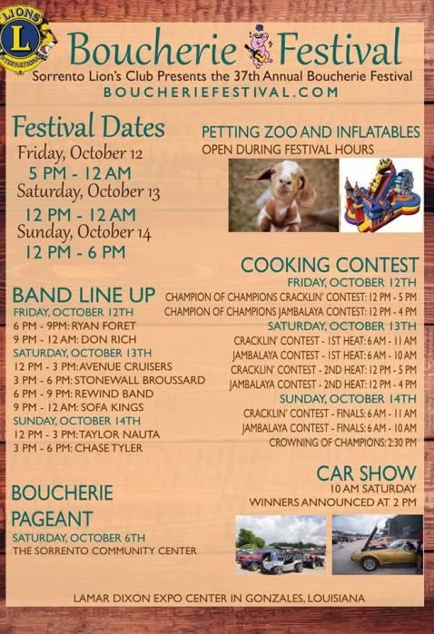 boucherie festival