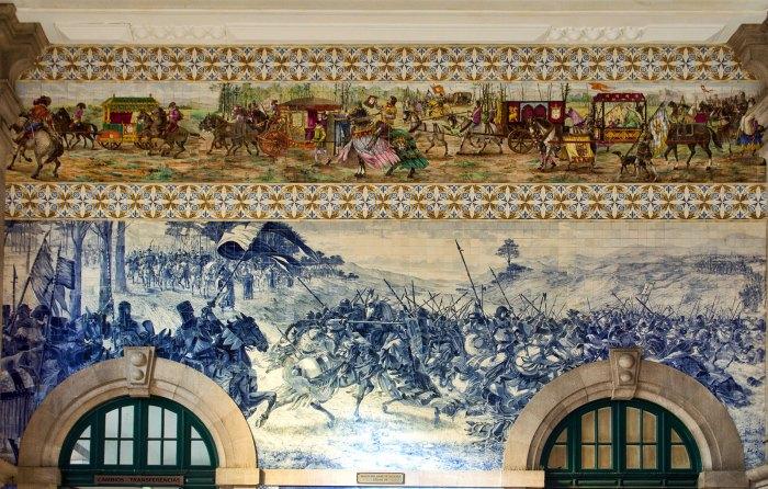 Porto São Bento Azulejos
