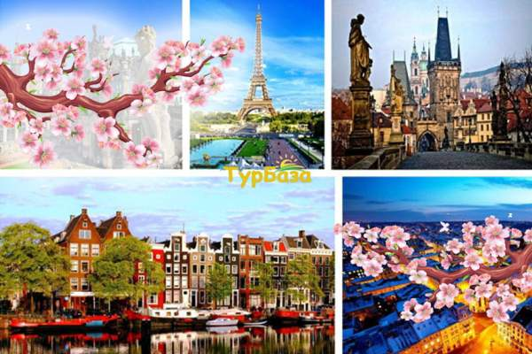 Незабутній Амстердам, Брюссель, Париж
