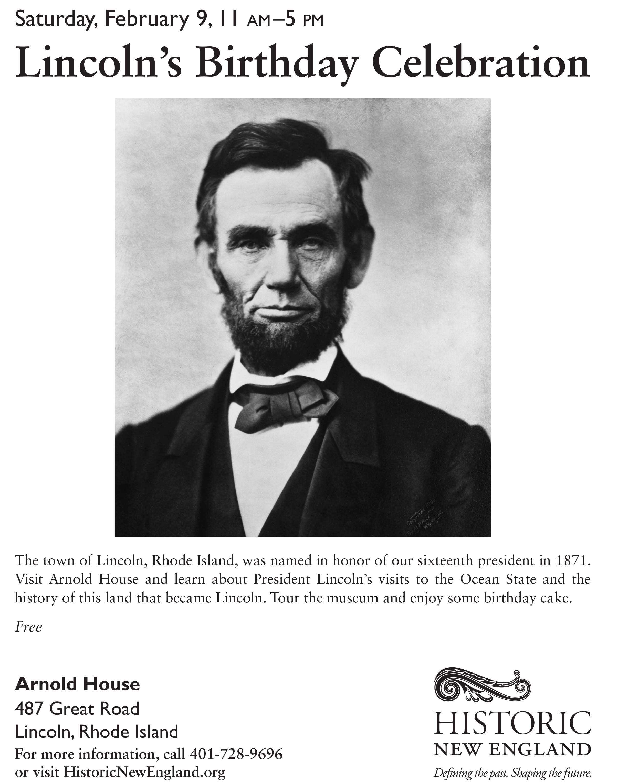 Lincoln S Birthday Celebration Blackstone Valley Tourism